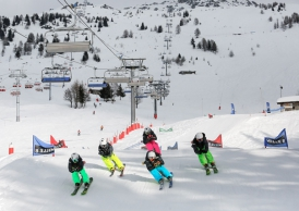 La promotion et le developpement du ski local